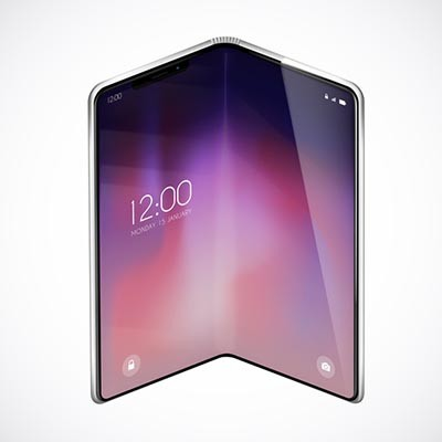 Foldable Screens Enter Smartphone Market