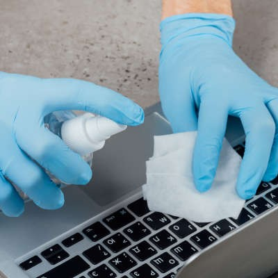 Tip of the Week: Sanitize Your Computer